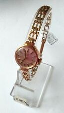 Vintage Rotary Ladies, wind-up, 9ct gold Watch and strap