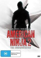 American Ninja 2 - The Confrontation (DVD, 2012)*R4*Michael Dudikoff*VGC