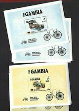 Gambia sc#628-9 x3 (1986) Souvenir Sheets MNH