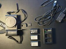 Lightly Used Sony Alpha a6500 — E-Mount, APS-C, 4K Support w/ 3 Batteries