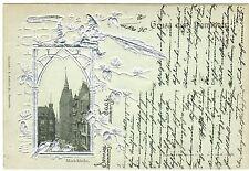 Frankierte Kleinformat Ansichtskarten aus Deutschland für Architektur/Bauwerk und Dom & Kirche