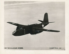 1940s WWII BD-2 Havoc Attack Bomber Airplane, US Navy aircraft Photo