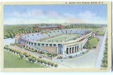 Postcard Buffalo Civic Stadium Buffalo NY 1945