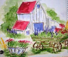 Farm Wagon RETIRED (U get photo # 2) L@@K art impressions rubber stamps RETIRED