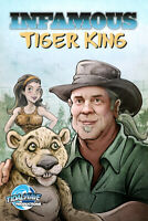 INFAMOUS TIGER KING #1 comic book VARIANT DOC ANTLE PRINT RUN 50 copies MINT