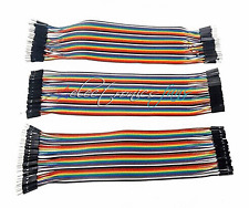 120pcs Dupont Wire Jumper Cable Female to Female + Male to Female + male to male