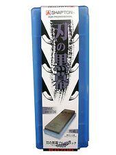 Shapton/Ha No Kuromaku/Japanese ceramic whetstone/Rough Grit #320/Blue-black