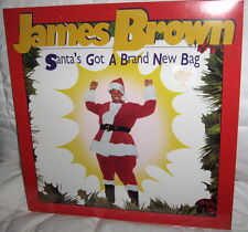 Sealed JAMES BROWN Santa's Got a Brand New Bag CHRISTMAS record album VINYL LP