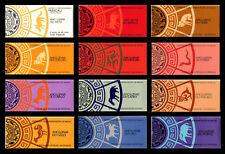 China Macau Macao Sc# 485a-757a 1984 1985 1986- 1994 1995 Rat-Boar Stamp Booklet