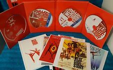 West Side Story Blu-ray/DVD Lmt. Ed. 50th Anniversary set+book+movie post cards