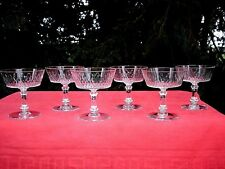 BACCARAT RICHELIEU CHAMPIGNY TALL SHERBET GLASSE COUPE A CHAMPAGNE CRISTAL 5777