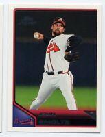 2011 Topps Lineage #94 JOHN SMOLTZ Atlanta Braves HOF Rare BASEBALL CARD