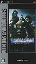 Nuevo Último Hits Crisis Core - Final Fantasy Di VII Psp Japón Export