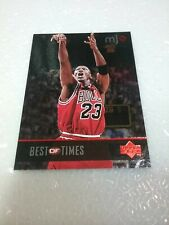 Michael Jordan Bulls 1998 Upper Deck MJX Best Of Times #135