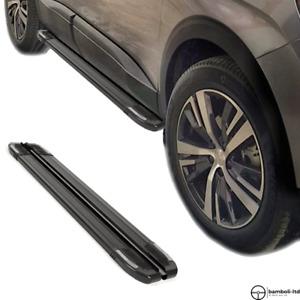 Running Board Side Step Nerf Bar for Chrysler Jeep Renegade 2014 - Up  (BLACK)