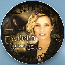 Unique Prototype Cordelia Plate by Cards Inc Angel Buffy the Vampire Slayer