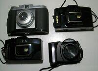 lot 4 appareils photos anciens