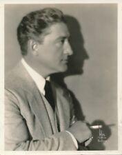 FRANCIS X BUSHMAN Original Vintage 1920s WITZEL Stamp DBW Silent Portrait Photo