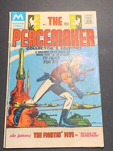 Peacemaker #1 (Modern Comics 1978) Reprints Charlton's Peacemaker #1 from 1967