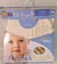 Halo SleepSack Swaddle Small Baby 0/3 Months Breathable