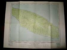Anitcosti Island Quebec Topographical Map - Sageuenay 1961 - Good