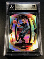TRAE YOUNG 2018 SELECT #142 PREMIER LEVEL SILVER REFRACTOR ROOKIE RC BGS 10 POP1