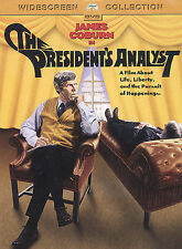 The President's Analyst, Very Good DVD, James Coburn, Godfrey Cambridge, Severn
