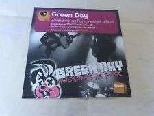 GREEN DAY - Awesome as fuck - DISPLAY / PLV 30 X 30 CM !!!