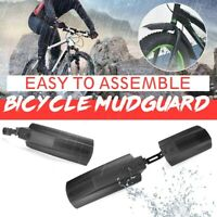 Front & Rear Fender Mud Guard Mudguard Bicycle Mountain Road Bike MTB 20-26""