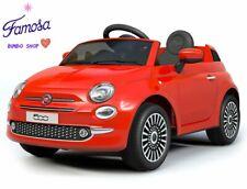 Auto Elettrica FIAT 500 12V Per Bambini con Telecomando e Mp3 Rossa