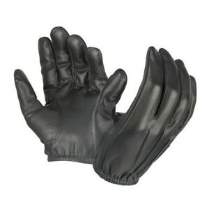 Hatch SG20P Dura-Thin Unlined Black Leather Police Duty Gloves Size S-2XL