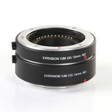 FOTGA Auto Focus AF Macro Extension Tube 10mm+16mm f Nikon 1 Mount J1 J2 J3 Lens