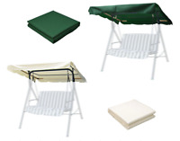 Swing Canopy Replacement Seat Garden Hammock 2 & 3 Seater Sizes Spare Top Cover