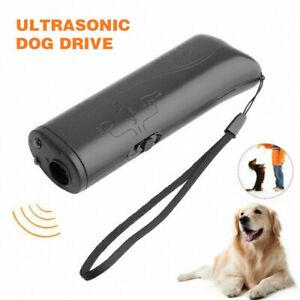 Ultrasonic Anti Barking Pet Dog Repeller Trainer Training Device Stop Bark UK.
