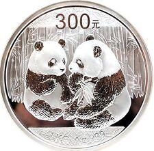 Rare 2009 CHINA PANDA 1 KILO SILVER PROOF NGC 300 Yuan Coin 1kg PR68 Low Mintage