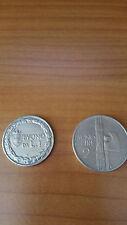monete -buono da 1 lira e buono da  2 lire