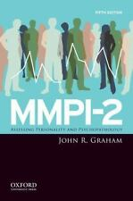 MMPI-2 : Assessing Personality and Psychopathology by John R. Graham Hard Cover