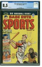 1950 Babe Ruth Sports Comics #9 CGC 8.5 Stan Musial Cover Harvey Publication HOF