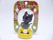 Japanese Fortune Cat MANEKI NEKO Solar Power Dancing Figure FREE SHIPPING Type C