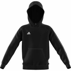 Adidas Sports Core 18 Youth Hoody - Black