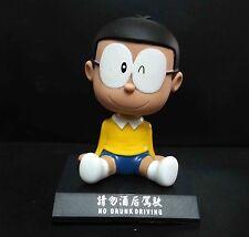 "Doraemon Nobita Nobi Shaking his head doll figure 4"""