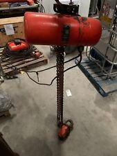 Cm 2 Ton Electric Chain Hoist Model Rr 3 Phase