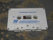 Championship Wrestling Cassette - Commodore 64, 1987 - Commodore 64