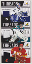 11-12 Pinnacle Antti Niemi Threads Jersey
