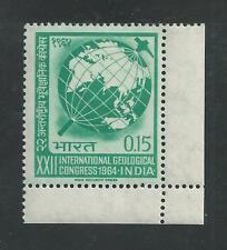 INDIA # 395 MNH INTERNATIONAL GEOLOGICAL CONGRESS
