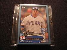 2012 TOPPS UPDATE TEXAS RANGERS *WAL-MART BLUE* TEAM SET 13 CARDS