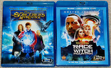Disney Blu-ray Lot - The Sorcerer's Apprentice (Used) Race to Witch Mountain