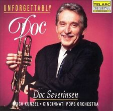 Unforgettably Doc by Doc Severinsen ERICH KUNZEL Cincinnati Pops 1992 Telarc CD