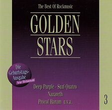 GOLDEN STARS - THE BEST OF ROCKMUSIC 3 / CD - TOP-ZUSTAND