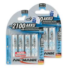 8x ANSMANN NiMH Akku Mignon AA 2100mAh maxE HR6 Sparset 5035052